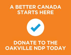 Oakville-NDP-Donate-Today