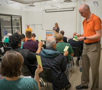 2020 AGM for Provincial and Federal Oakville NDP Riding Associations