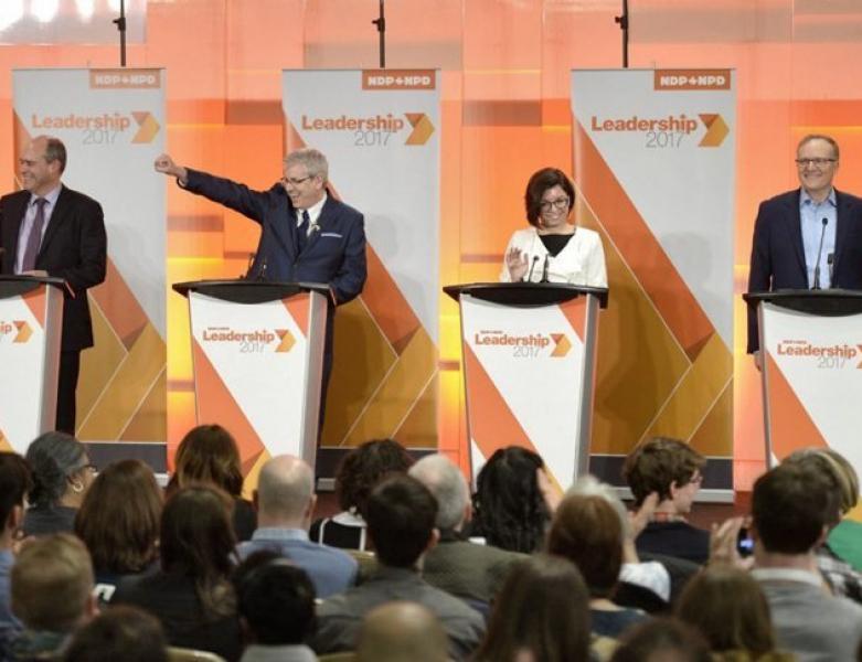 First Federal NDP Leadership Debate Gets Race Going