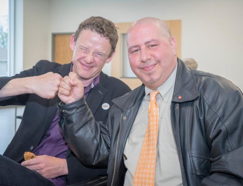 Ontario MPP Joel Harden Endorses Oakville's Jerome Adamo