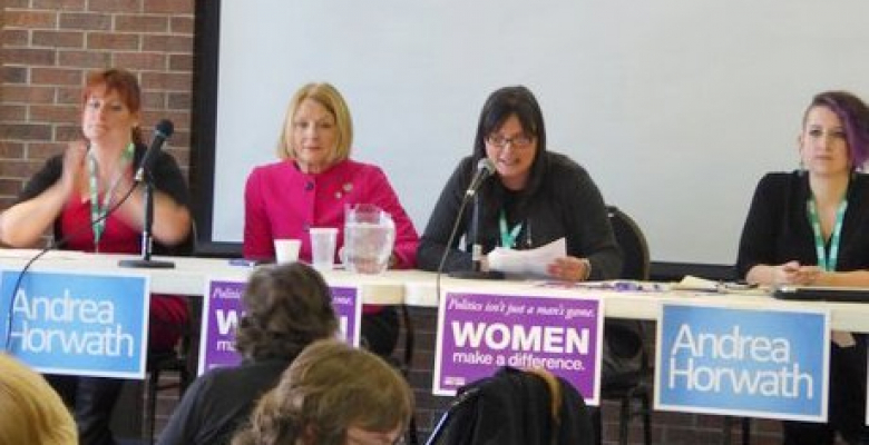 ONDP Women's Conference – Politics Isn't Just a Man's Game