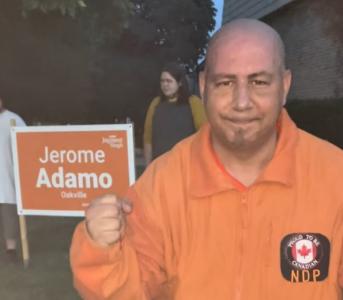 Oakville NDP Candidate Jerome Adamo Talks Family Values